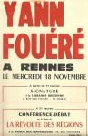 Poster Y.F. signature, Débats...19700001