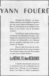 Texte au dos du Poster sur Y.F.- 19700001