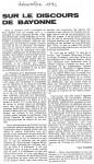 Article'Sur le discours...'Dec.'840001