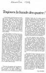 Article'Toujours la...'Dec.'830001